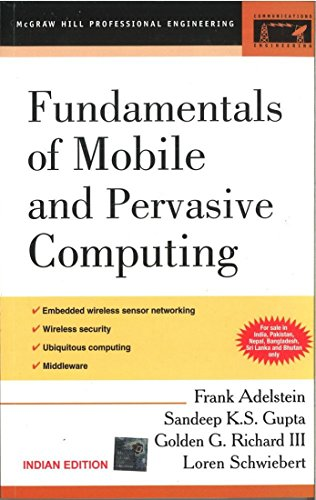 9780070603646: FUNDAMENTALS OF MOBILE AND PERVASIVE COMPUTING