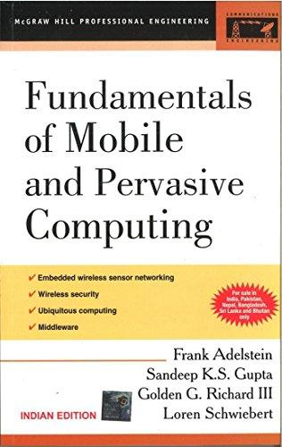9780070603646: Fundamentals of Mobile & Pervasive Computing 1ED