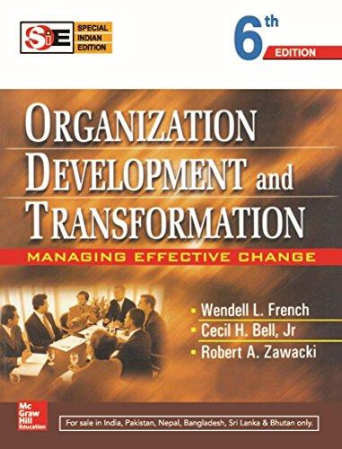 9780070603943: Organization Development and Transformation