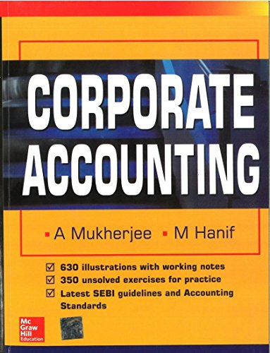 9780070604292: Corporate Accounting