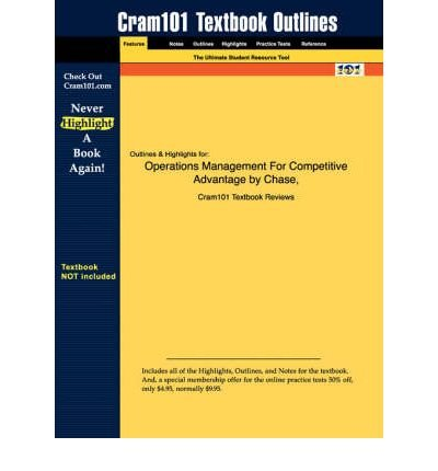 9780070604483: Operations Management for Competitive Advantage (Competitive Adventage, Competitive Advantage)