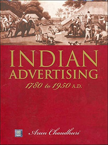 9780070604612: Indian Advertising 1780-1950ad