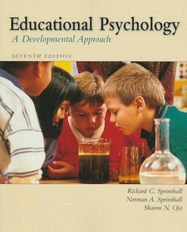 9780070605763: Educational Psychology: A Developmental View