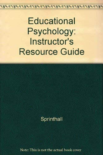 9780070605770: Educational Psychology: Instructor's Resource Guide
