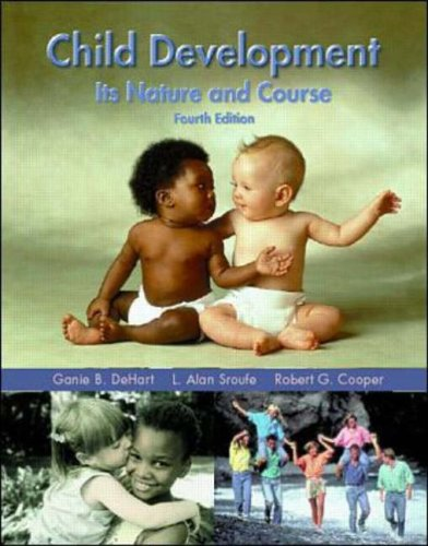 9780070605800: Child Development: Its Nature and Course