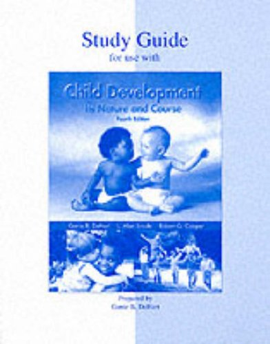 9780070605817: Child Development: Its Nature and Course, Study Guide