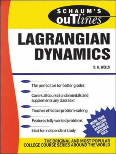 9780070605992: Schaum's Outline of Lagrangian Dynamics