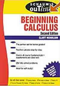 9780070606111: BEGINNING CALCULUS