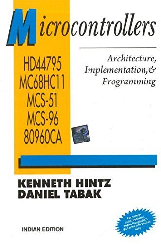 9780070606272: Microcontrollers: Architecture, Implementation, & Programming
