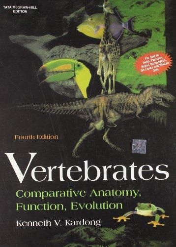9780070607507: Vertebrates: Comparative Anatomy, Function, Evolution 4th Edition