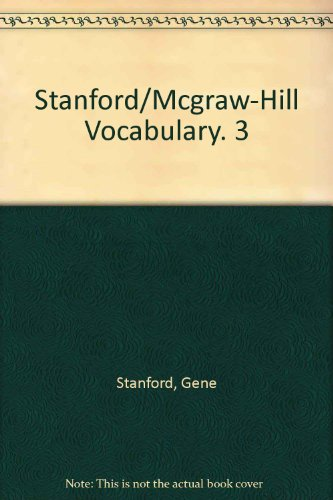 9780070607590: Stanford/Mcgraw-Hill Vocabulary. 3