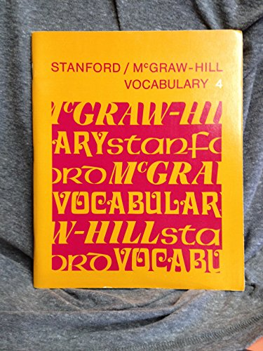 9780070607606: Stanford/Mcgraw-Hill Vocabulary. 4