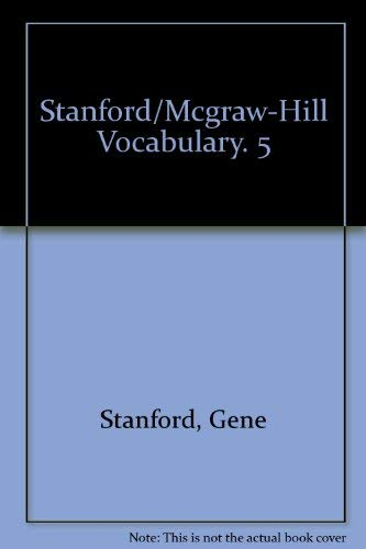 9780070607613: Stanford/Mcgraw-Hill Vocabulary. 5