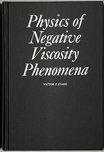 9780070608757: Physics of Negative Viscosity Phenomena (Earth & Planetary Science)