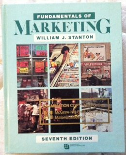 Fundamentals of marketing (McGraw-Hill series in marketing): William J Stanton