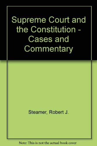 9780070609167: American Constitutional Law: Introduction and Case Studies