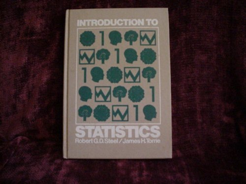 9780070609181: Introduction to Statistics (Probability & Statistics)