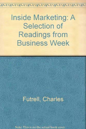 9780070609518: Inside Marketing: A Selection of Readings from Business Week