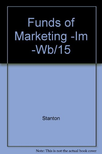 9780070609617: Funds of Marketing -IM -Wb/15