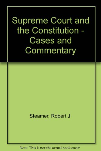 9780070609778: American Constitutional Law: Introduction and Case Studies