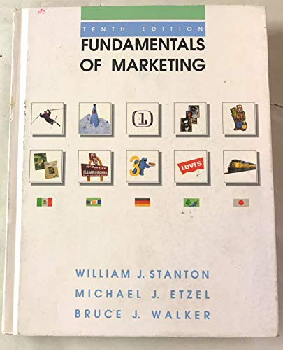 9780070610156: Fundamentals of Marketing (Mcgraw Hill Series in Marketing)