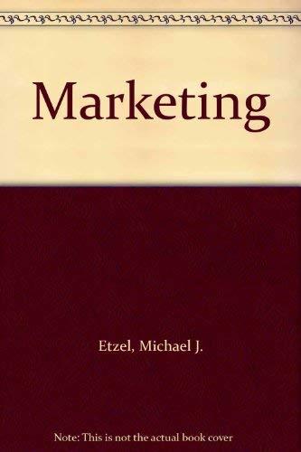 Marketing: Michael J. Etzel,