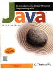 9780070611030: An Introduction To Object-Oriented Programming With Java