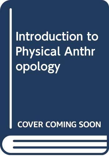 9780070611160: Physical anthropology