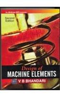Design of Machine Elements: V B Bhandari