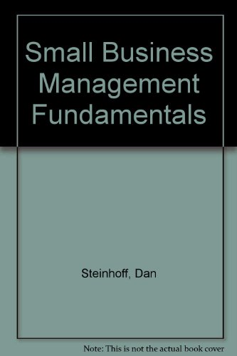 9780070611429: Small Business Management Fundamentals