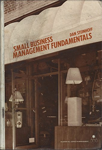 9780070611467: Small business management fundamentals (McGraw-Hill series in management)