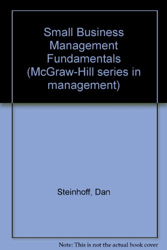9780070611481: Small business management fundamentals (McGraw-Hill series in management)