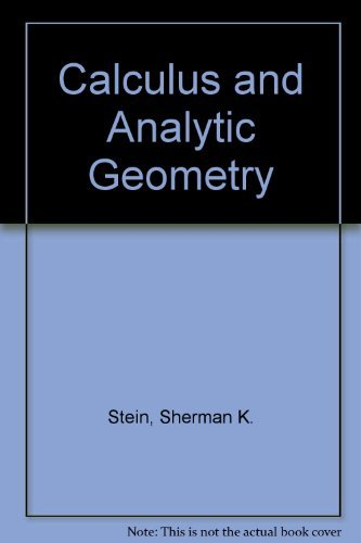 9780070611535: Calculus and Analytic Geometry