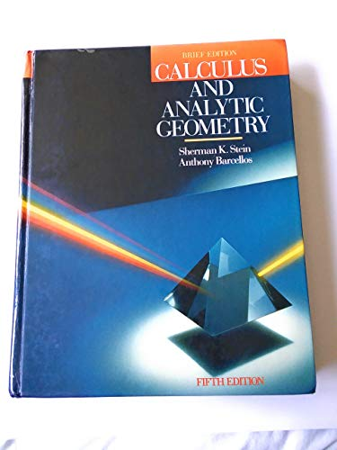 9780070611993: Calculus and Analytic Geometry