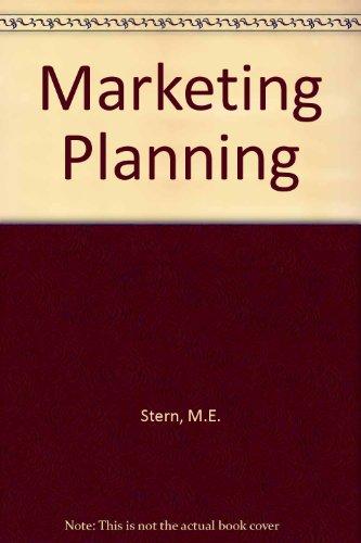 9780070612112: Marketing Planning