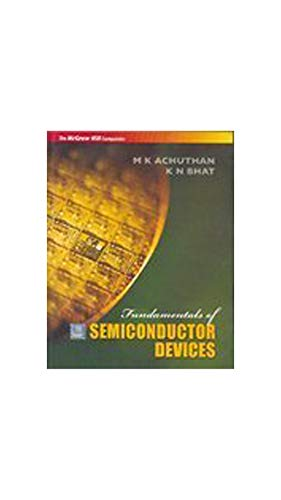 9780070612204: Fundamentals Of Semiconductor Devices