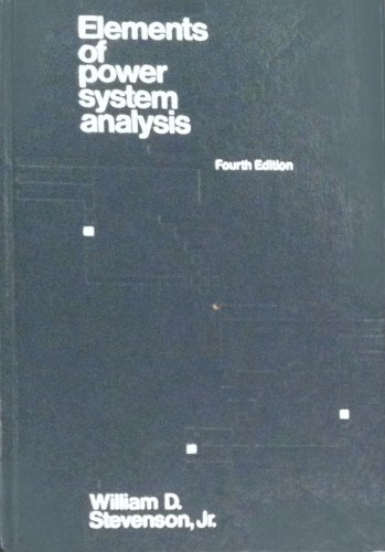 9780070612785: Elements of Power System Analysis