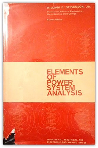9780070612822: Elements of Power System Analysis
