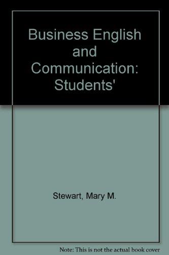 9780070613010: Business English and Communication