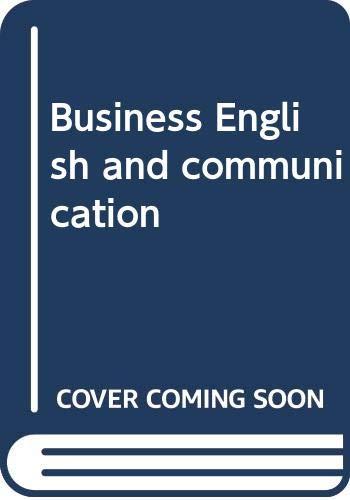 9780070613232: Business English and communication
