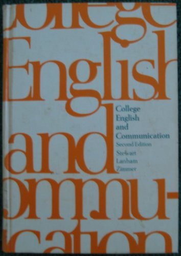 College English and Communication: et al Marie M. Stewart
