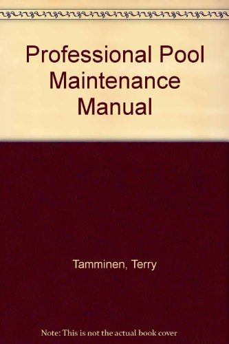 9780070614079: The Professional Pool Maintenance Manual
