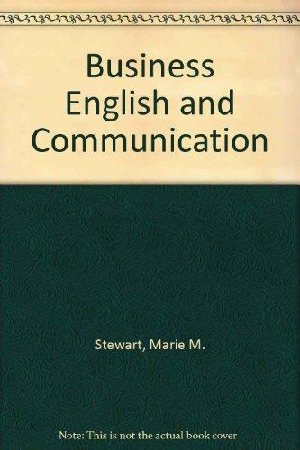 9780070614109: Business English and communication