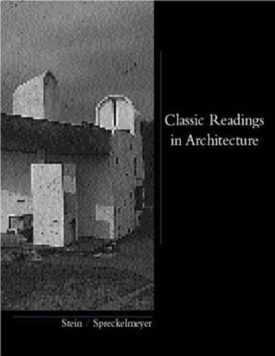 9780070614154: Classic Readings in Architecture