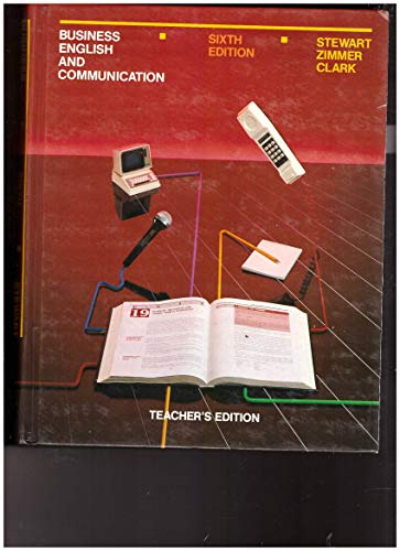 9780070614215: Business English and Communication: Tchrs'