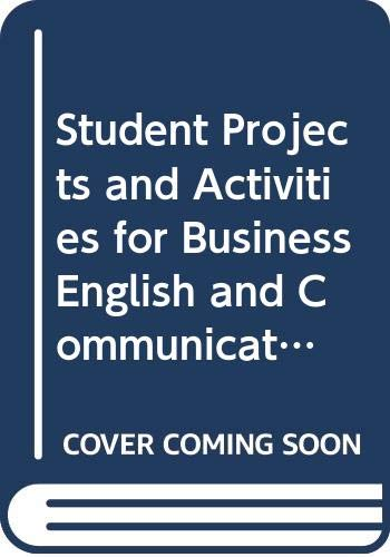 9780070614222: Student Projects and Activities for Business English and Communication