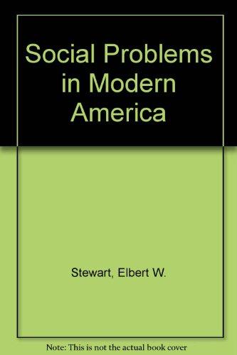 9780070614277: Social Problems in Modern America