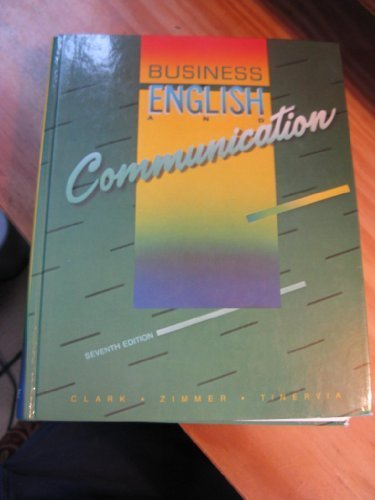 9780070614321: Business English and Communication