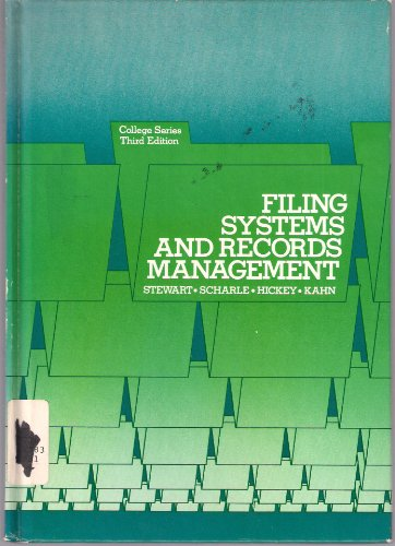 9780070614710: Filing Systems and Records Management (College series)
