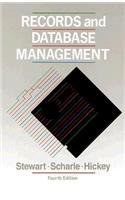 9780070614741: Records and Database Management (College Series)